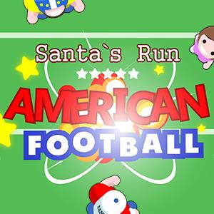 Santa's Run American Football.