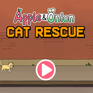 Apple and Onion Cat Rescue.