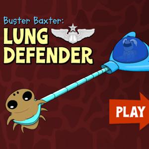 Arthur Buster Baxter Lung Defender.