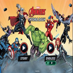 Marvel Avengers Hydra Dash Game.