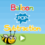 Balloon Pop Subtraction.