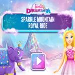 Barbie Dreamtopia Sparkle Mountain Royal Ride.