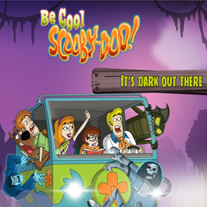 Be Cool Scooby Doo It's Dark Out There Game.