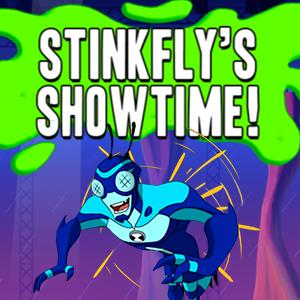 Ben 10 Challenge Stinkflys Showtime.