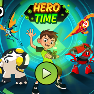 Ben 10 Hero Time.