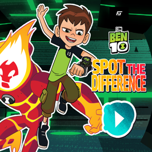 Ben 10 Spot the Difference.