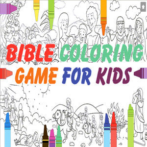 Bible Coloring Book for Kids.