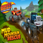 Blaze and the Monster Machines Mud Mountain Rescue Game.