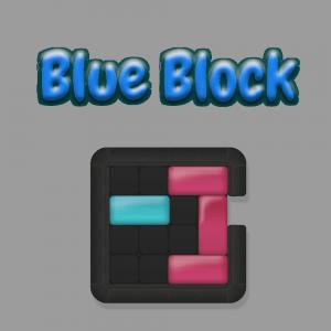 Blue Block Game.