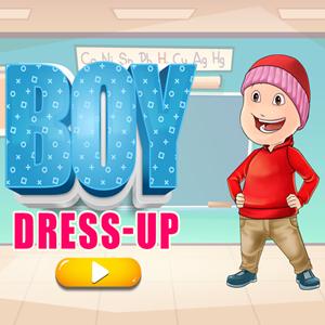 Boy Dress Up Game.