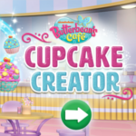 Butterbean's Cafe Cupcake Creator Game.