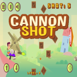 Cannon Shot Game.