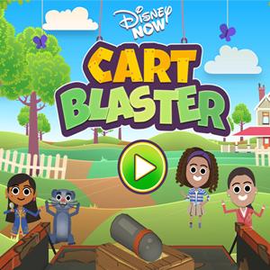 Disney Now Cart Blaster Game.