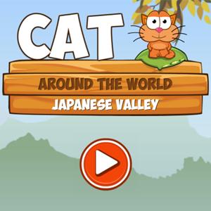 Cat Around The World Japanese Valley.