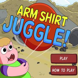 Clarence Arm Shirt Juggle.