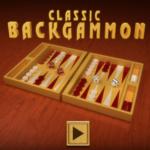 Classic Backgammon Game.