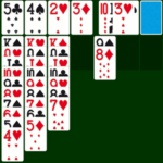Classic Solitaire Card Video Game.