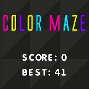 Color Maze.