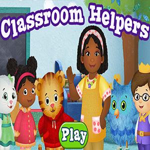 Daniel Tigers Neighborhood Classroom Helpers.