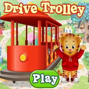 Daniel Tigers Neighborhood Drive Trolley.