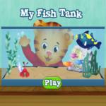 Daniel Tiger's Neighborhood My Fish Tank game.