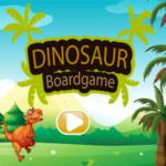 Dinosaur Board Game.