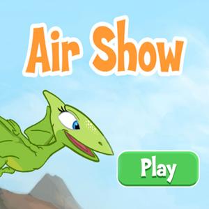 Dinosaur Train Air Show.