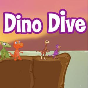 Dino Dive Game.