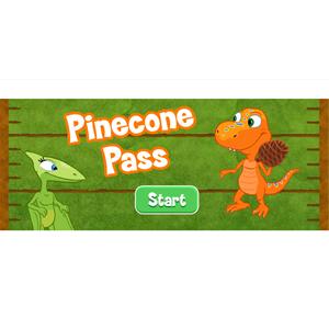 Dinosaur Train Pinecone Pass.
