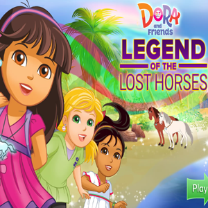 Dora and Friends Legend of the Lost Horses.