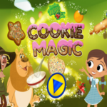 Dorothy and the Wizard of Oz Cookie Magic.