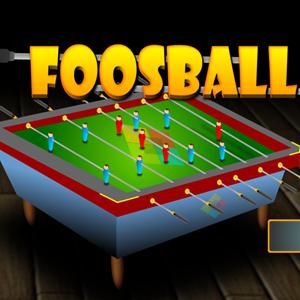 Foosball Game.