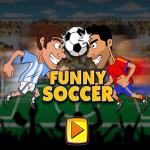 funny soccer game.