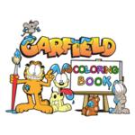 Garfield Coloring Book.
