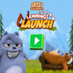 Grizzy Lemmings Launch.