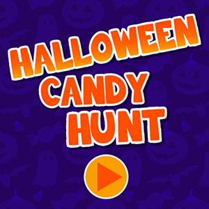 Halloween Candy Hunt.