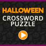 Halloween Crossword Puzzle.