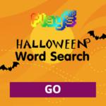 Halloween Word Search.