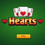 Hearts Card Game.