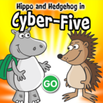 Hippo and Hedgehog in Cyber Five.