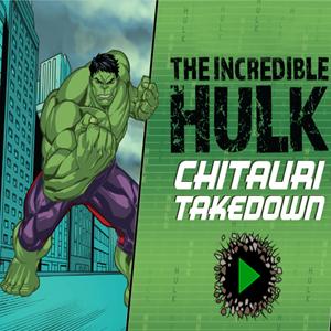 Incredible Hulk Chitauri Takedown Game.
