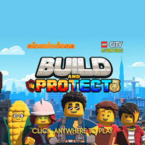 Lego City Universe Build and Protect Game.