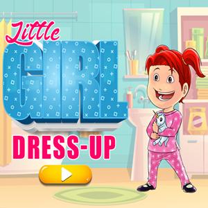 Little Girl Dress Up Game.