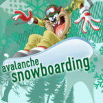 Looney Tunes Avalanche Snowboarding.
