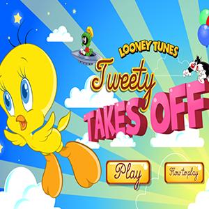 Looney Tunes Tweety Takes Off.