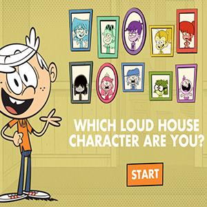 Loud House Character Quiz.