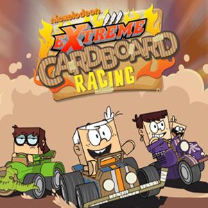 Loud House Extreme Cardboard Racing.