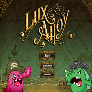 Lux Ahoy Pirate Game.