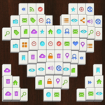Mahjong Solitaire Game.