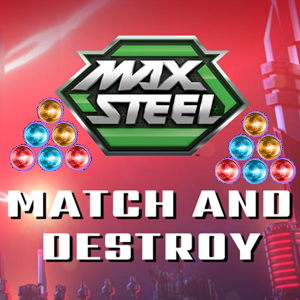 Max Steel Search and Destroy Game.